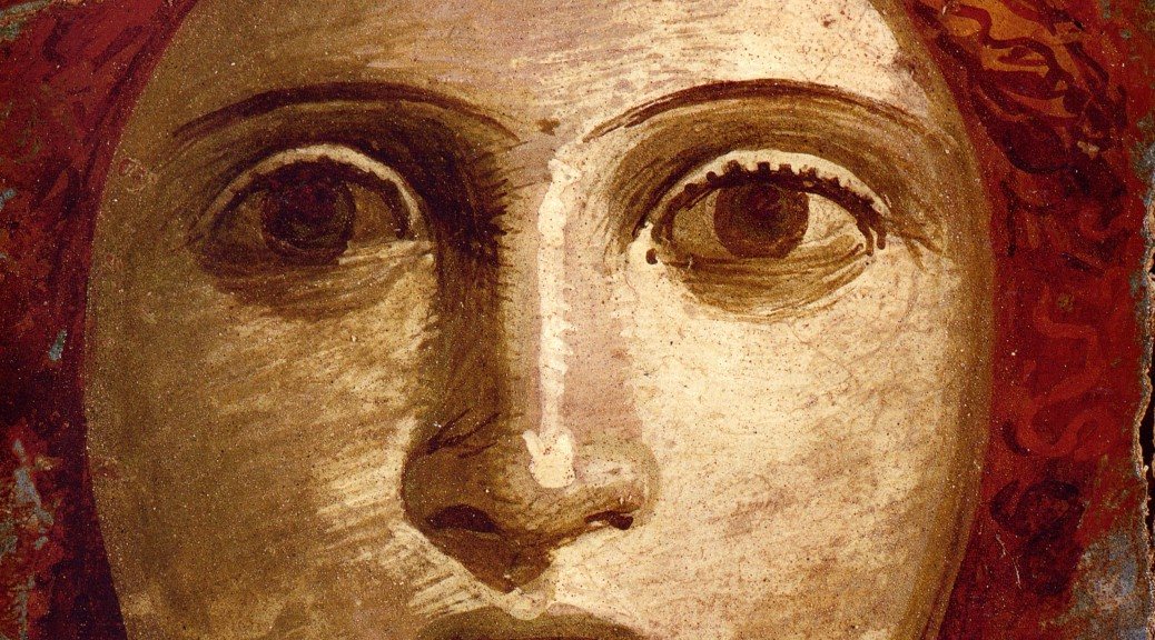 Pompeii_-_Casa_del_Bracciale_d'Oro_-_Theatre_Mask